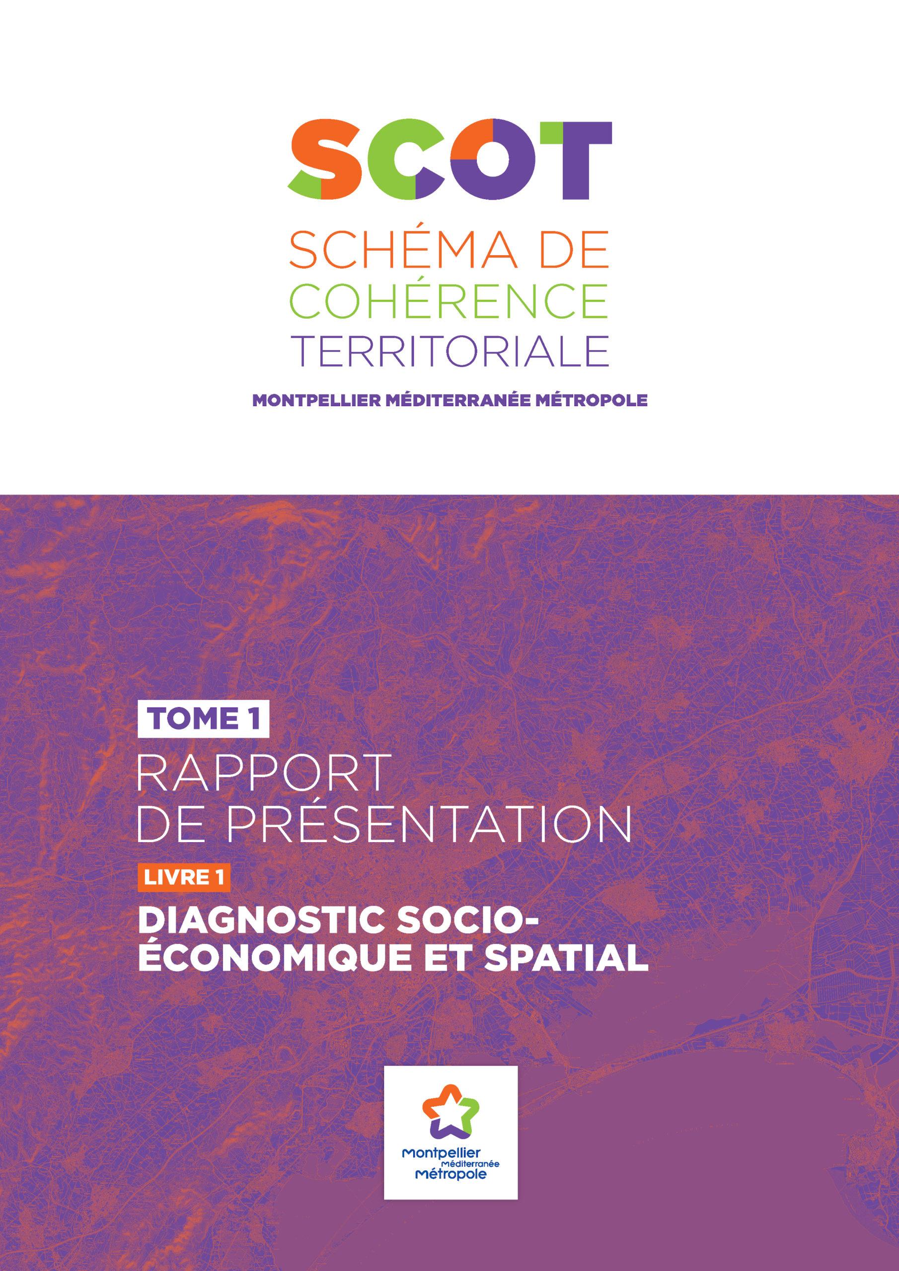 SCOT de la Métropole de Montpellier. Rapport de présentation : diagnostic socio-économique et spatial