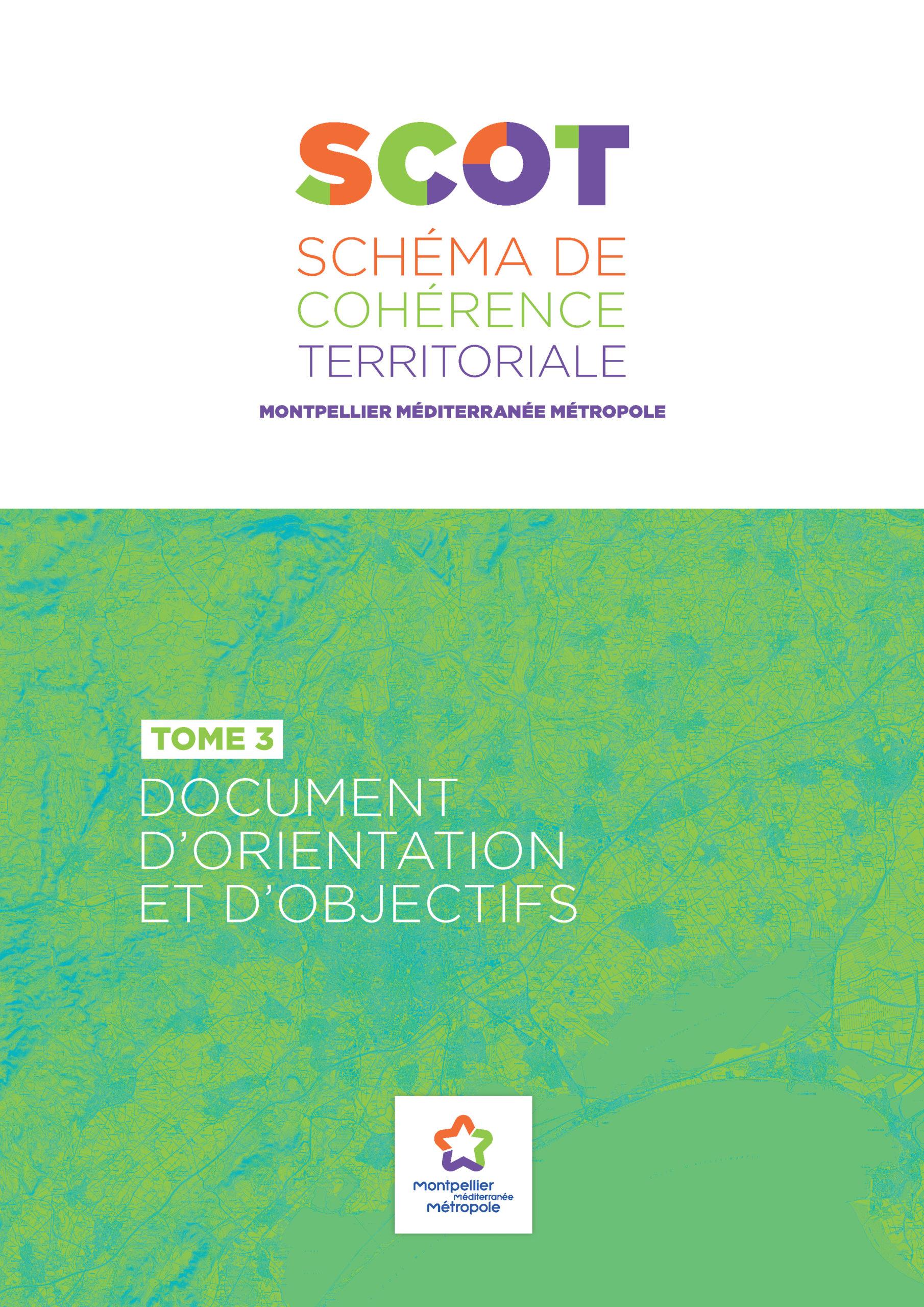 SCOT de la Métropole de Montpellier : Document d'Orientation et d'Objectifs